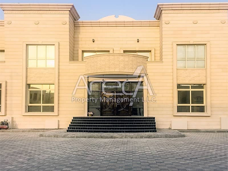 Crazy Deal !! 10 Master Bed Villa in Khalifa City with Huge ROI