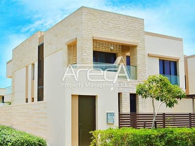 5 Bedroom Villa for Rent in Saadiyat Island, Abu Dhabi - Type 6 Customized Corner Villa With Pool