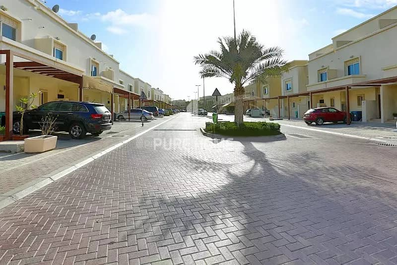 10 Ideal Investment! Spacious 2 Bedrooms Villa with Garden In  Al Reef
