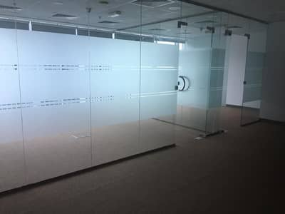 Office for Sale in Business Bay, Dubai - Partitioned Office in Burlington Tower