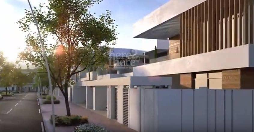 14 Dazzling Brand New Five bedroom Villa In West Yas.