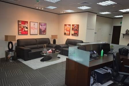 مکتب  للبيع في أبراج بحيرات جميرا، دبي - Fully Furnished Office Space with Lake View