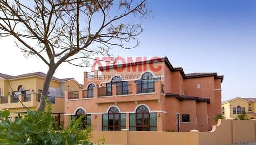 فیلا 4 غرفة نوم للبيع في جميرا جولف إستيت، دبي - Furnished  Hacienda | 4 Bed Plus Maids | Golf View