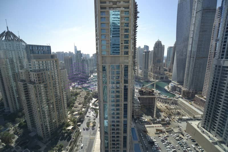 1 Bed with Balcony | High Floor | Marina View |