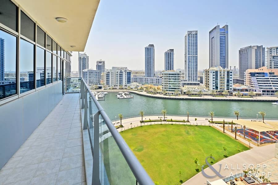 3 Bed + Maids | 3 Balconies | Marina View