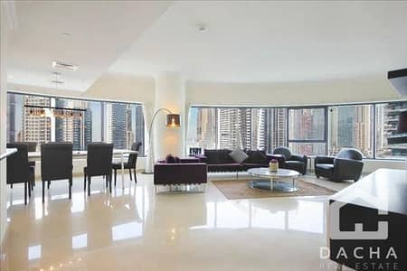 Fully furnished 3BR Apartment with full Marina View