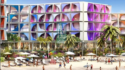 شقة فندقية 1 غرفة نوم للبيع في جزر العالم، دبي - Guranteed ROI 100% Offer Special features _1BR