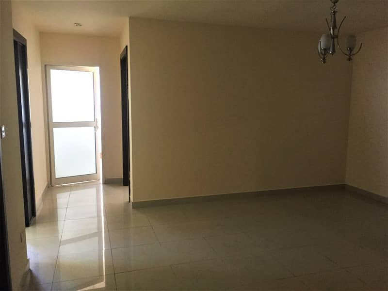 2 Bedroom on higher floor with balcony near metro station AED 58,000/4 cheques. .
