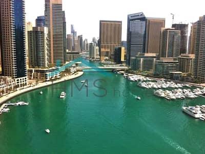 3 Bedroom Apartment for Rent in Dubai Marina, Dubai - 3BR + Maid | Marina Wharf I | Close to JBR | Dubai Marina