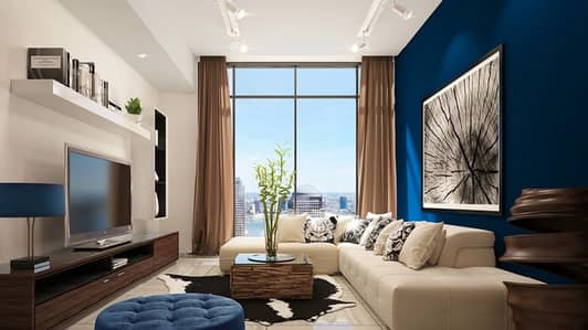 Studio for Sale in Jumeirah Village Circle (JVC), Dubai - AVAIL NOW ! CHEAPEST STUDIO APT WITH ELEGANT IN DETAILS 4years post hand over. in JVC's O2 Tower.Off Plan