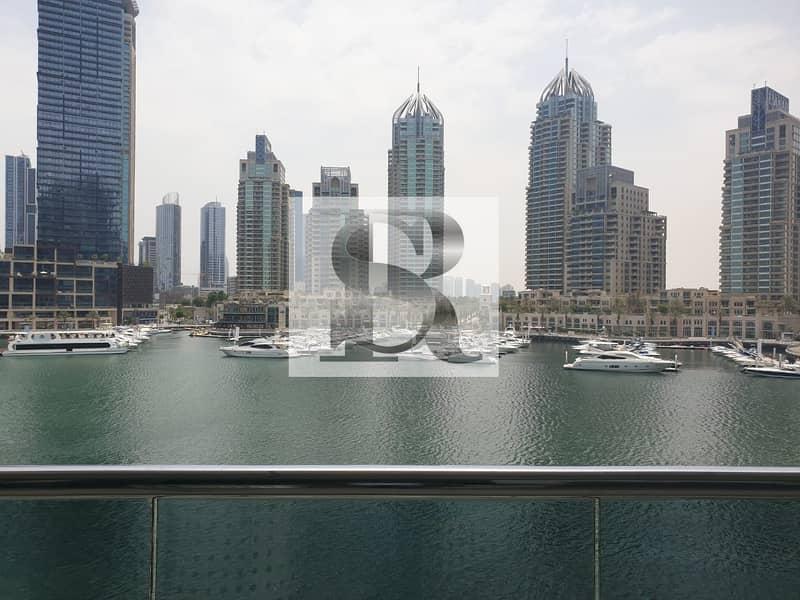 2 Stunning 3BR+Maid|Marina View|Dubai Marina