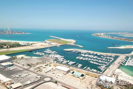 فلیٹ 2 غرفة نوم للبيع في دبي مارينا، دبي - High Floor | Vacant | Sea View | Furnished