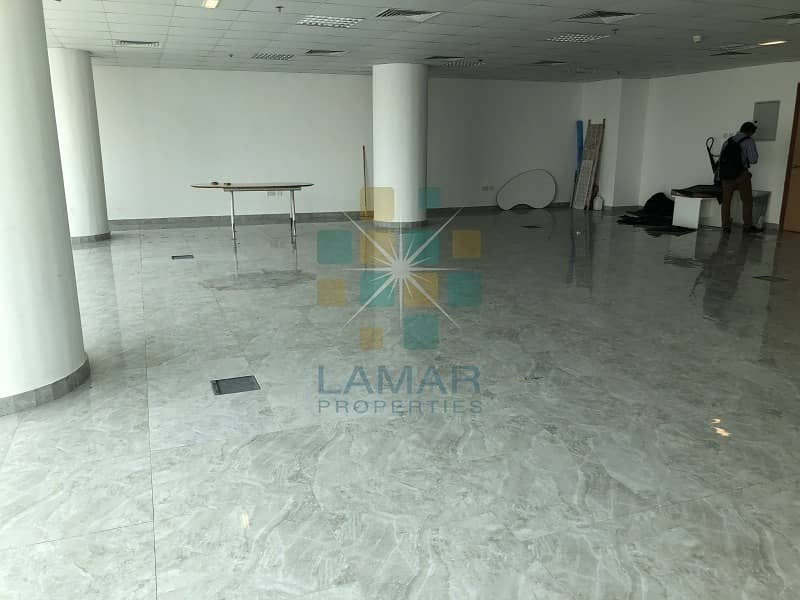 Fitted full open office high floor 2 parking | Bayut com