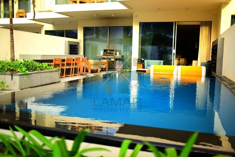 Daily rent Luxurious furnished private pool & garden