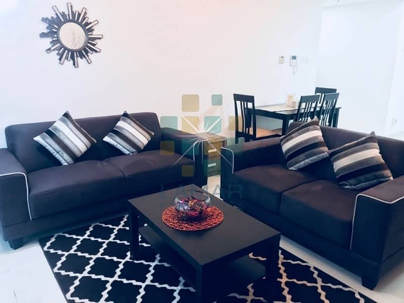 Pool View Spacious & Furnished 1BR for Sale