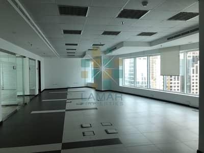 مکتب  للايجار في برشا هايتس (تيكوم)، دبي - Elegantly fully fittd glass partitiond bright off