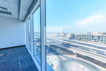 مکتب  للايجار في شارع الشيخ زايد، دبي - Combined Units | Fully Fitted | Mid Floor