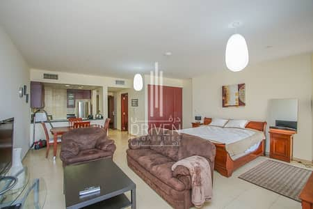 Studio for Sale in Jumeirah Beach Residence (JBR), Dubai - Fully Furnished Studio Apartment in Murjan