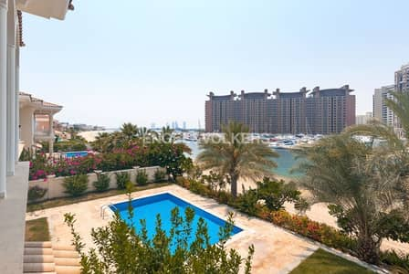 6 Bedroom Villa for Rent in Palm Jumeirah, Dubai - Stunning | High-End Finishes |  Vacant