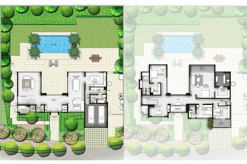 10 Four Bedrooms | Type A2 | Private Pool l