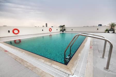 2 Bedroom Flat for Sale in Jumeirah Village Circle (JVC), Dubai - POOL VIEW