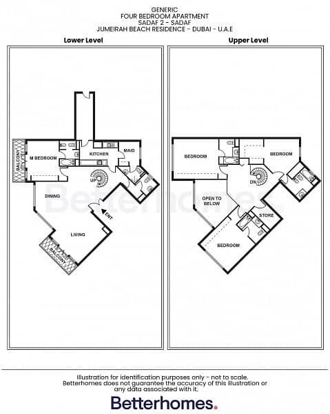 24 Upgraded | Duplex | Vacant | Marina View