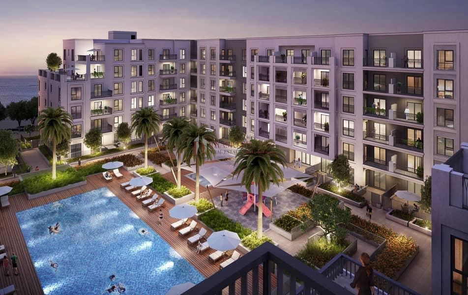 13 Water Front living | Direct Beach Access Sharjah Mamzar