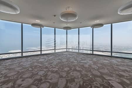 مکتب  للبيع في وسط مدينة دبي، دبي - Full Floor FITTED Office in Burj Khalifa Corporate