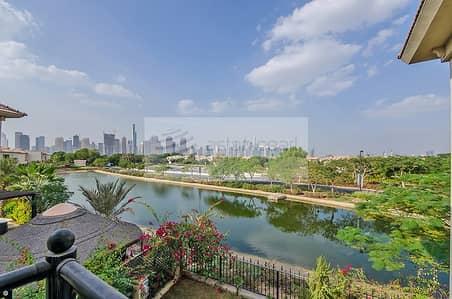 فیلا 4 غرفة نوم للبيع في جزر جميرا، دبي - Beautiful Lake View