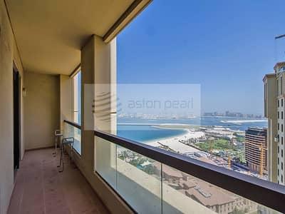 شقة 1 غرفة نوم للبيع في مساكن شاطئ جميرا (JBR)، دبي - Panoramic Sea View |Unique 1BR | SADAF 7