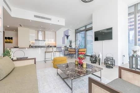فلیٹ 2 غرفة نوم للايجار في دبي مارينا، دبي - Fully Furnished with French Interior Design