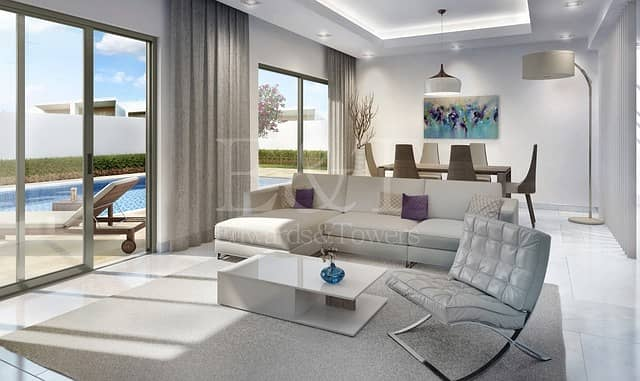 Spectacular Price Phase1 3bed Villa YasAcres