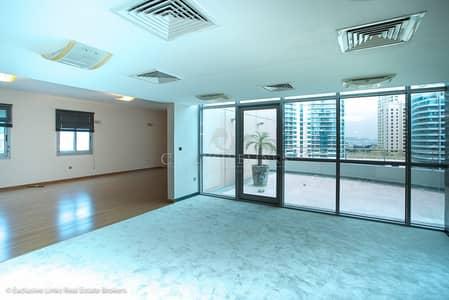 شقة 3 غرفة نوم للايجار في دبي مارينا، دبي - Largest 3 bedroom in the Marina for rent