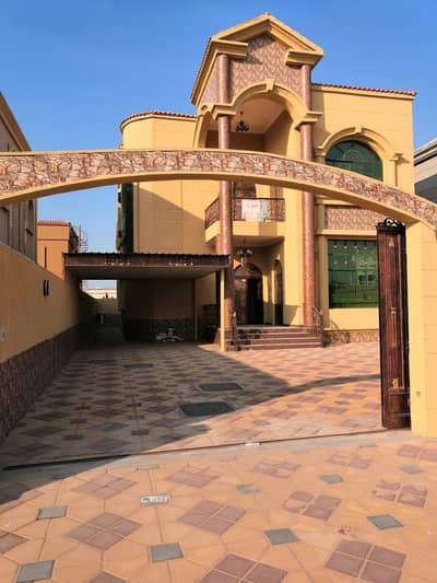 فیلا 5 غرفة نوم للبيع في المويهات، عجمان - فيلا  فخمة التشطيب موقع متميز قريبة من جميع الخدمات تملك حر مع امكانية التمويل البنكى