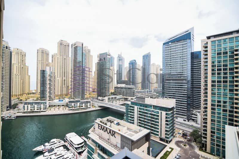 Fully Furnished Huge 1 Bed | Full Marina View