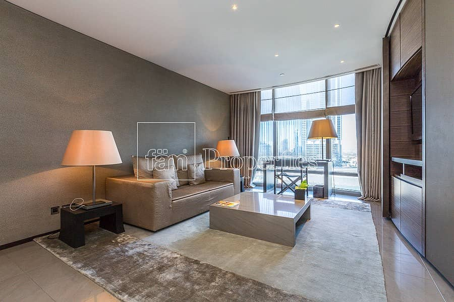 1BR Furnished | Boulevard View | Burj Khalifa