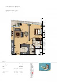 1-Bedroom-Apartment-Plot-615-Type-1C