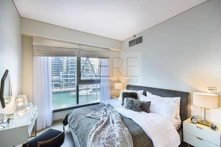 شقة 1 غرفة نوم للبيع في دبي مارينا، دبي - Full Marina View | One the Best One Beds in the Tower
