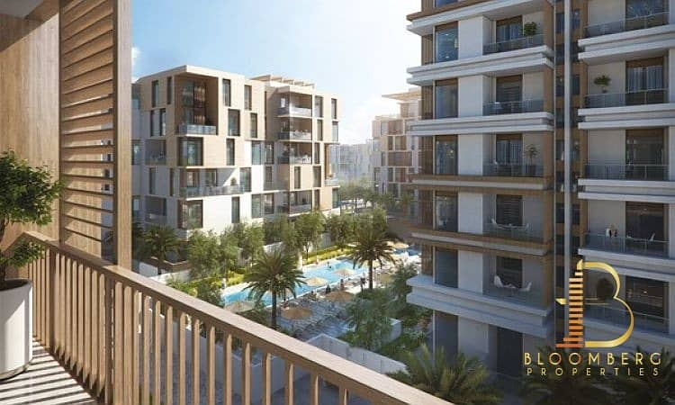 10 Book a 2 Bed room Apt. with AED 13