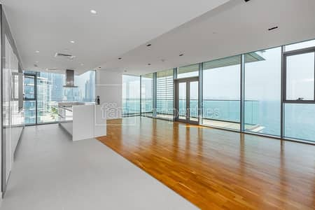 شقة 4 غرف نوم للايجار في جزيرة بلوواترز، دبي - 4BR with Stunning Full Sea View | Bluewaters