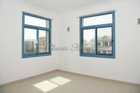 فیلا 4 غرفة نوم للايجار في دبي لاند، دبي - Cheap Deal! 4B/R+Maids Room Semi-Detached Townhouse Aegean Style