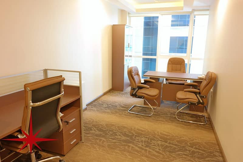 Furnished Office With all Facilities for Start Up Companies