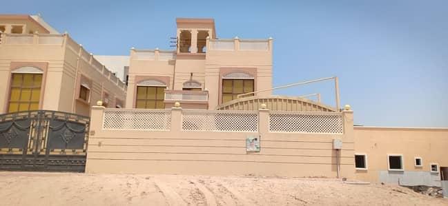 5 Bedroom Villa for Rent in Al Mowaihat, Ajman - Villa for rent in Ajman area Muwaihat two floors are still living in air conditioners