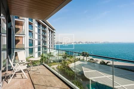 فلیٹ 1 غرفة نوم للايجار في جزيرة بلوواترز، دبي - Fully Furnished 1BR|Sea view|Open Plan Kitchen
