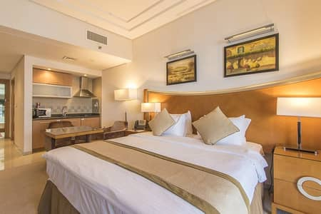 شقة فندقية  للايجار في برشا هايتس (تيكوم)، دبي - Quiet furnished Studio Close to Metro for Rent