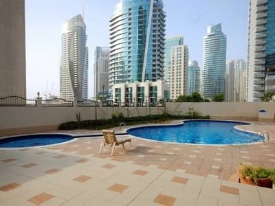 1 Bedroom Apartment for Rent in Dubai Marina, Dubai - 1BHK for rent in Diamond 1 | Chiller Free