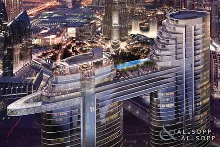 شقة 5 غرف نوم للبيع في وسط مدينة دبي، دبي - 5 Bed | Burj and Fountain View | Sky Views