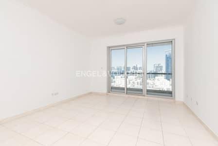 فلیٹ 1 غرفة نوم للبيع في ذا فيوز، دبي - Vacant | Lake Community View| Mortgage Free
