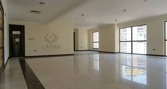 3 Bedroom Flat for Rent in Jumeirah Beach Residence (JBR), Dubai - Sea view apartment with 1 month FREE