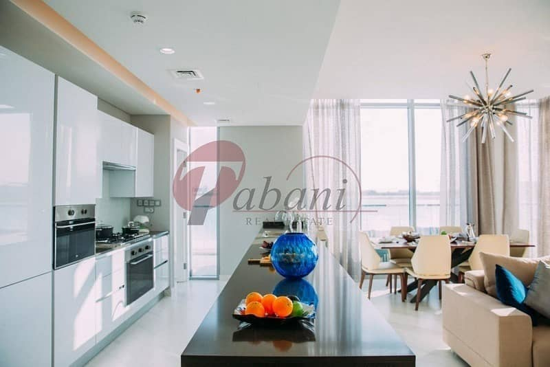 2 Furnished   1BR + Maids Room Water View